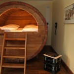 Historic beer barrel accommodations in Ostbevern, Germany