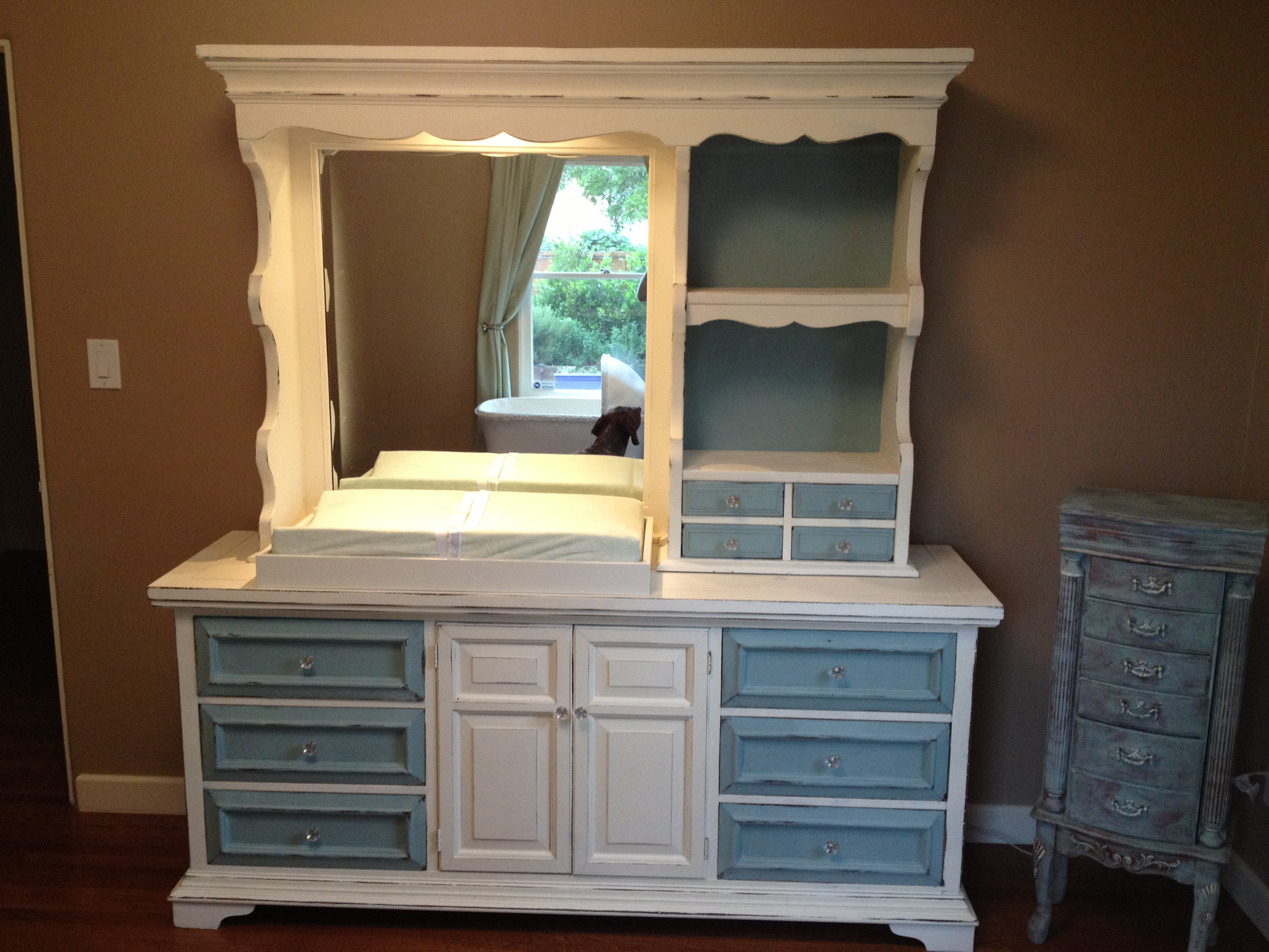 Before and After Furniture Makeovers - Christina Faye ... |Repurposed Furniture Before And After